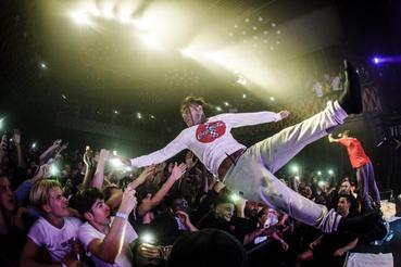 Tekashi 6ix9ine élő koncert Koppenhágában 2018. szeptember 8-án.