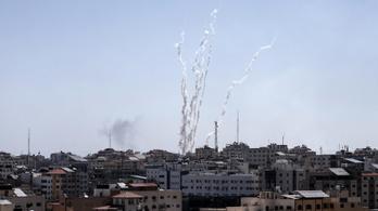 Több tucat rakétát lőttek Izraelre Gázából