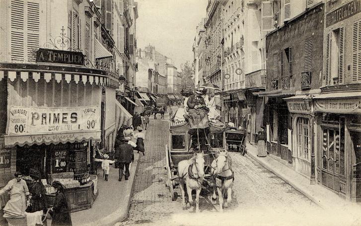 A rue de Vaugirard, Dénes Valéria és Galimberti Sándor párizsi lakhelye a 20. század elején