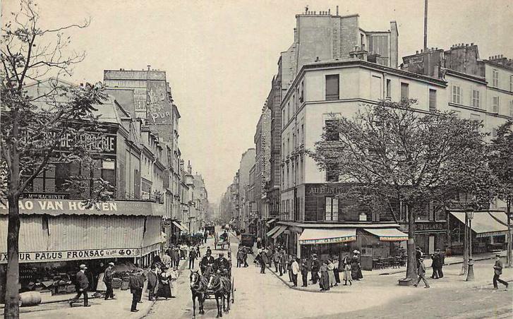 A párizsi rue de Vaugirard a 20. század elején