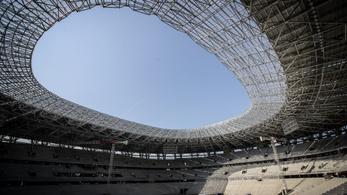 Öt szurkolót bevisznek az épülő Puskás Stadionba