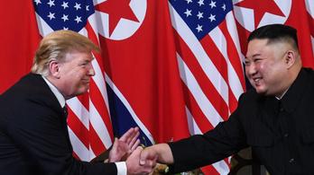 Trump: Én Kim Dzsongun oldalán állok