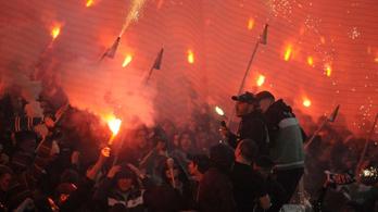 Negyven szurkolót állítottak elő a Fradi-Újpest focimeccs előtt