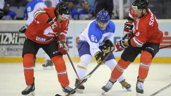 NHL-s kanadai-kazahok ellen zárjuk le a vb-t