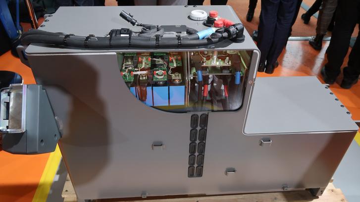 Saját fejlesztésű és gyártású lítiumion-akkucsomag