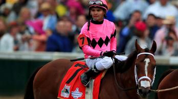 Kizárták a győztes lovat a legrangosabb amerikai derbin