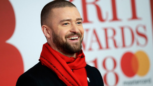Justin Timberlake megmutatta az irtó cuki kisfiát