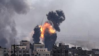 450 rakétát lőttek ki Gázából, Izrael 200 légicsapást hajtott végre