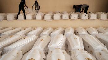 Eltemették a ruandai népirtás 85 ezer áldozatának maradványait
