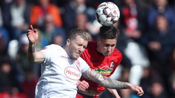 Sallai 176 nap után tért vissza a Bundesligába