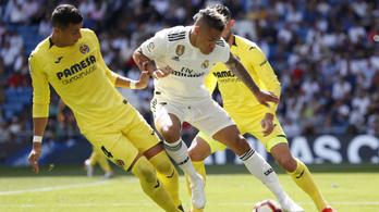 A Real Madrid dominikai duplázója elintézte a menetelő Villarrealt