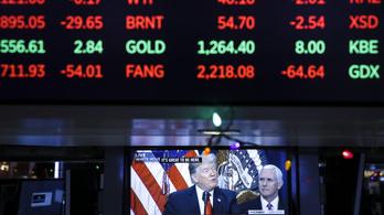 Megrengette a tőzsdéket az újabb amerikai-kínai pengeváltás