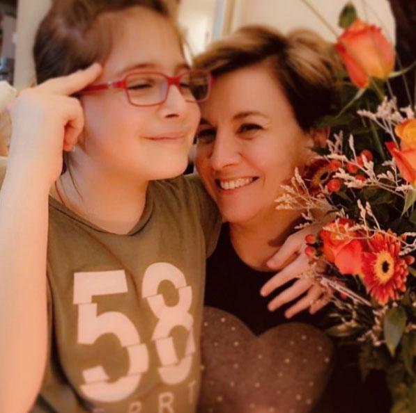Ábel Anita imádja egy szem lányát, a tízéves Lucát. Anyák napja alkalmából készült fotójuk nagy siker volt Instagramon.