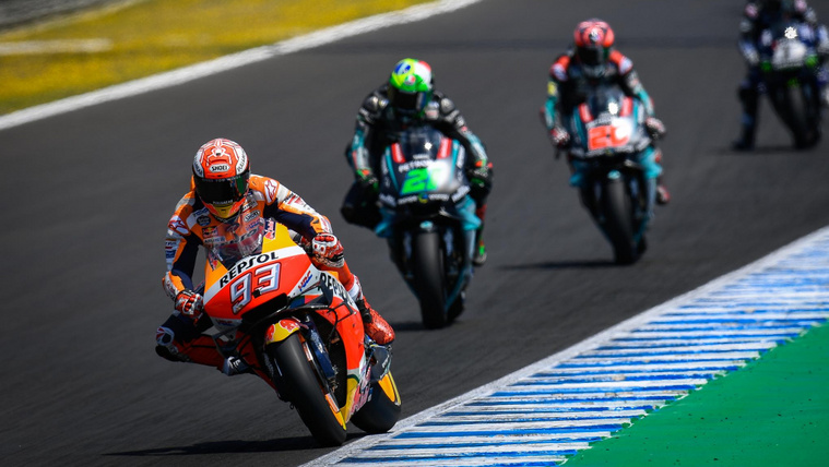Márquez motorja lassú volt, mégis nyert