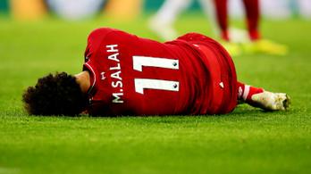Csapás a Liverpoolnak, nem játszhat Szalah