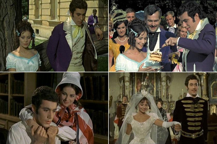 Venczel Vera és Kovács István az 1966-ban bemutatott Kárpáthy Zoltán című filmben.