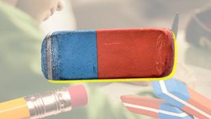 Mire jó a radír kék vége, ha nem szedi ki a tintát?