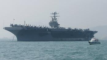 Repülőgép-hordozót küld Irán ellen az USA