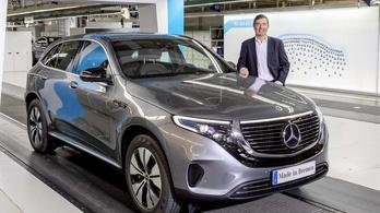 A Mercedesé lesz a legolcsóbb luxus-villanyterepjáró