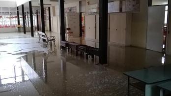 Beázott az iskola: tanítási szünet Kaposváron