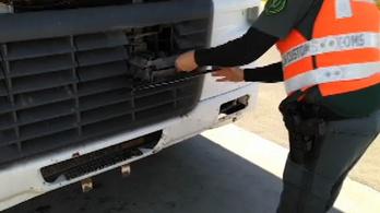 Egyre több, rendszámmal trükköző kamionos bukik le