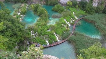 Előzetes regisztráció nélkül senki sem nézheti meg a Plitvicei-tavakat