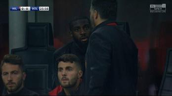Meccs közben küldte el a fenébe Gattusót játékosa
