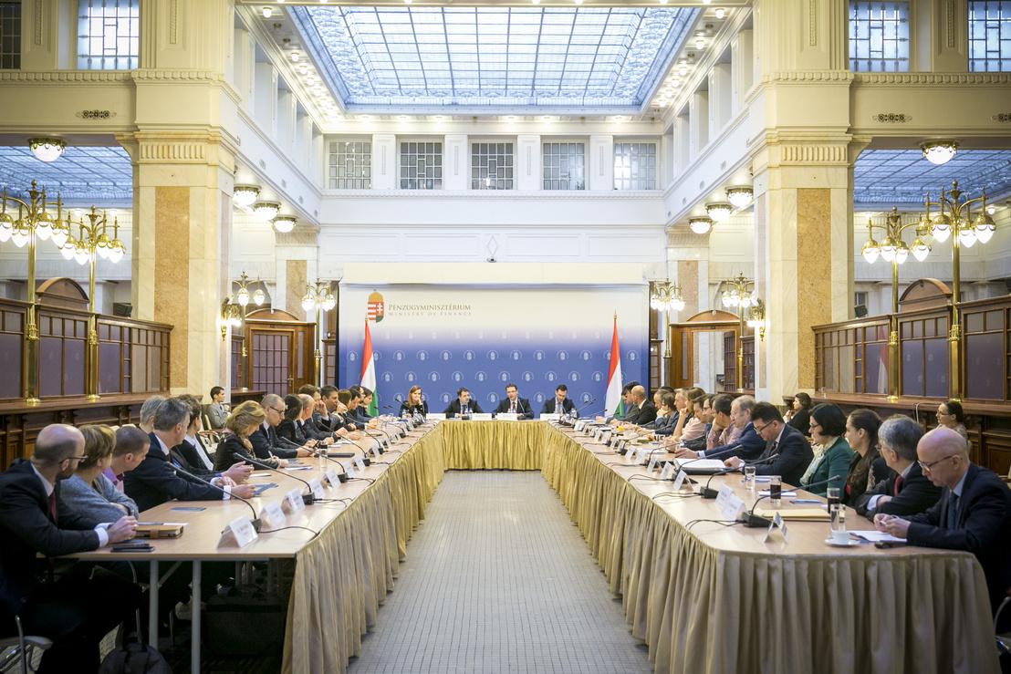 Adó-Tanácskozás a Pénzügyminisztériumban 2019. március 12-én