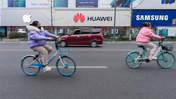 Elsöpörték az Apple sikerét a kínai gyártók