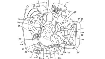 Trükkös egyhengeres bukkant fel a Suzuki szabadalmai között
