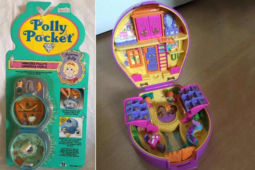 Ki ne szeretett volna egy apró, mindenhová elvihető babaházat? Az apró figurával mellékelt Polly Pocket sok kislány vágya volt a kilencvenes években.