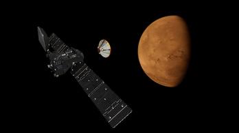 Hatalmas viharokban tűnhetett el a víz a Marsról