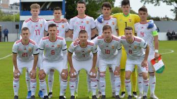 A magyar U17-es válogatott csoportgyőztes lett