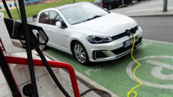 Az összes autó 0,8%-a volt elektromos 2017-ben az Európai Unióban