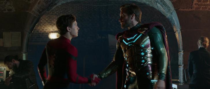 Pókember és Mysterio találkozása