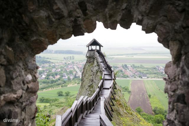 Boldogkő várának őrtornya