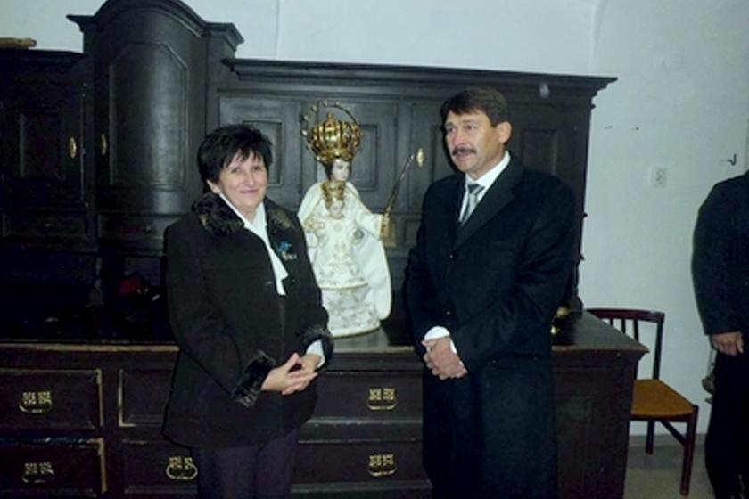 Varga Ottóné és Áder János.