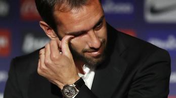 Sírva búcsúzott el az Atlético legendája