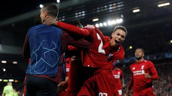 A Liverpool-védő zseniális szöglete kellett a továbbjutáshoz