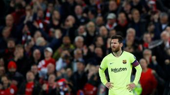 A meccs után is folytatódtak Messi megpróbáltatásai