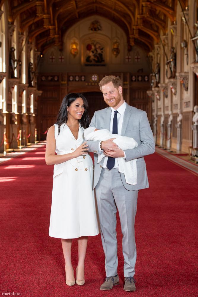 A királyi család legifjabb tagja hetedik az öröklési sorrendben