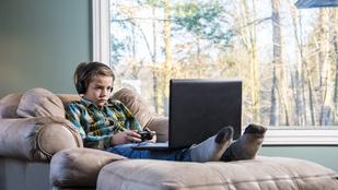 Ezért ne engedd, hogy a gyerek túl sokat bámulja a képernyőt