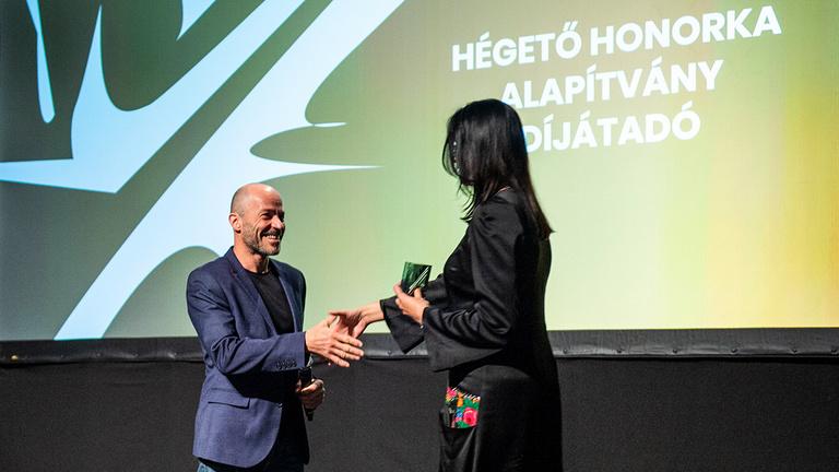Hégető Honorka-díjat kapott az Index