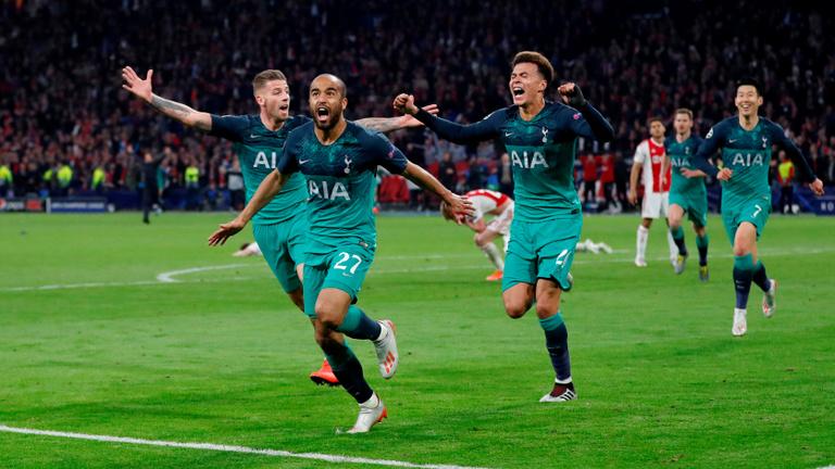 Ajax-Tottenham 2-3, Tottenham-Liverpool BL-döntő lesz