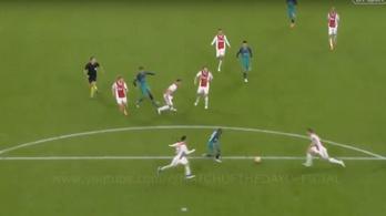 Az Ajax-kapitány nem rúgta el a labdát a győztes gól előtt