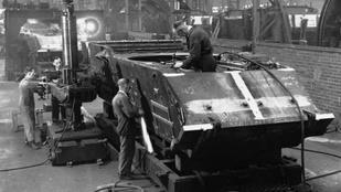 A brit hadsereg tankjaiban szériafelszerelés a teafőző