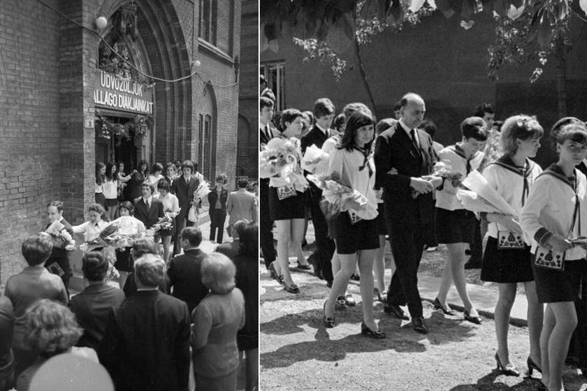 Ilyenek voltak a ballagási ünnepségek a 70-es években: nem sok dolog változott azóta