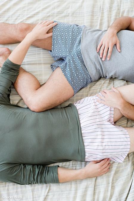 stockfresh 1358620 gay-couple-lying-on-bed sizeM 81f8ec
