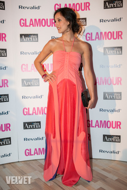 Trokán Nóra a Glamour Women of the Year gálán