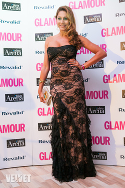 Horváth Éva a Glamour Women of the Year gálán